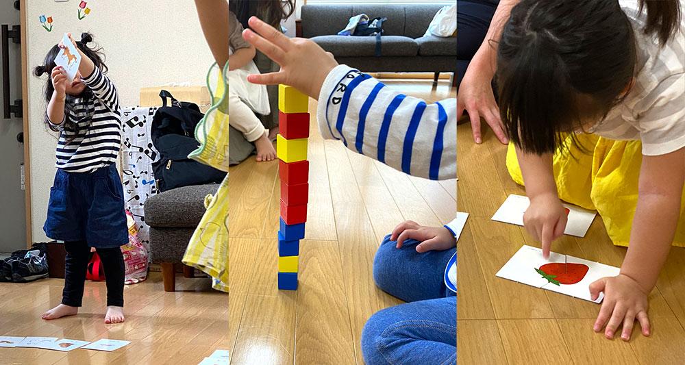 「1歳児~5歳児リトミックコース」リトミックレッスンの様子
